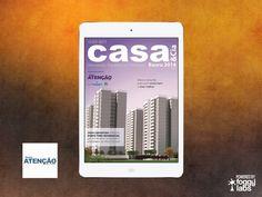 Revista Atenção para iPad, iPhone e Android, no Portfolio de Aplicativos da Foggy Labs  #revistanotablet