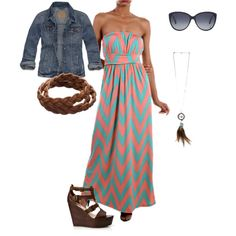"""""""Maxi Dress"""" by thetexascowgirl on Polyvore"""
