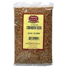 Spicy World Corriander Seeds 7oz Spicy World