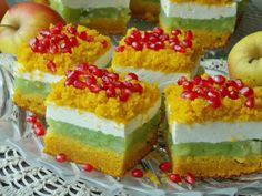 pl:: Przepisy kulinarne w jednym miejscu. Polish Recipes, Polish Food, Homemade Cakes, Yummy Cakes, Cake Recipes, Cheesecake, Food And Drink, Candy, Baking