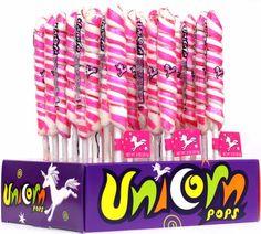 Pink & White Unicorn Pops - Strawberry $11.99