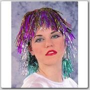 Tinsel Wigs. . .Reminds me of the fair