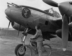 """P-38 """" Butch""""."""