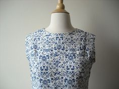 Vintage Country Fabric Dress by Baxtervintage on Etsy, $32.00