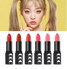 Coringco MOMO First Chu Semi Matt Lipstick (6 Color Avail)  Korea Cosmetics #Coringco