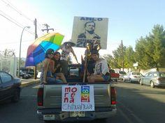 Morena Chihuahua LGBT presente