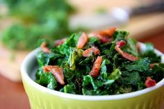 SHHH!  I Have A Secret ~ And A Wilted Organic Kale Recipe!