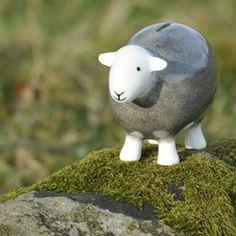 'Herdy' piggy, er, sheepy bank.