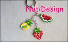 Beaded Flowers, Crochet Flowers, Bead Earrings, Crochet Earrings, Brick Stitch Tutorial, Crochet Flower Tutorial, Bracelet Crafts, Pony Beads, Bead Crochet