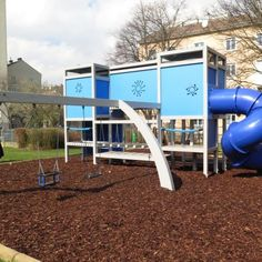 Wind Turbine, Park, Playground, Environment, Games, Parks