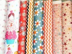 Telas de patchwork 100% de algodón. De los mejores diseñadores.http://coseycanta.com/es/470-telas-patchwork