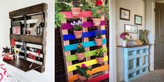 The best DIY pallet projects to update your home and garden.