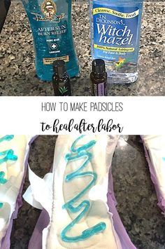 How to make padsicles for postpartum recovery - BexBernard - Pregnancy Postpartum Care, Postpartum Recovery, Best Postpartum Pads, Sitz Bath Postpartum, Postpartum Outfits, Postpartum Must Haves, Pregnancy Must Haves, Baby Life Hacks, Mom Hacks
