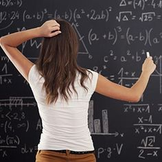 Math was my nemesis all throughout school. From Kindergarten through college, I loathed math. I especially hated algebra. I still don't get it and honestly I fear the day when my son asks me … Education English, Elementary Education, Math Test, Math Problems, Basic Math, Education Quotes For Teachers, Video Games For Kids, Blackboards, Make It Through