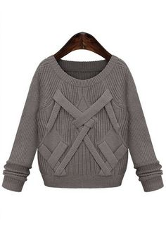 Long-sleeved high-quality wool sweater