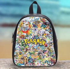 Pikachu Pokemon Family Kids School Bag  This bag is a great gift for children who are starting kindergarten or pre - school . Besides , its back is fully padded for addition support and comfort . Make your kid feels special on their first day of school by carrying this unique and fun backpack .