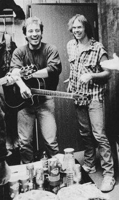 Bruce Springsteen and Neil Young