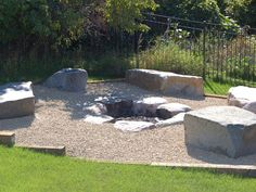 campfire pit | Campfire Rings | Backyard Fire Pits | Outdoor Fireplaces | Fire Pit ...