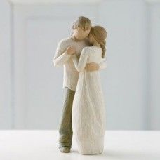 Hold dear the promise of love figurine. Measurements: Promise Figurine by Willow Tree by Demdaco . Home & Gifts - Home Decor - Decorative Objects Alabama