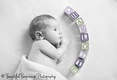 Lovely Newborn Photos: Cute idea. Newborn photo