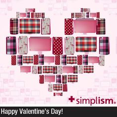 Happy Valentine's Day - Geeky Valentine's Day Cards for Apple Lovers www.simplism.com