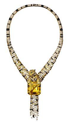 Cartier yellow diamond emerald onyx save by Antonella B. Rossi