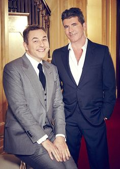 Old friends: Simon gave his old friend and fellow Britain's Got Talent judge some key advi...