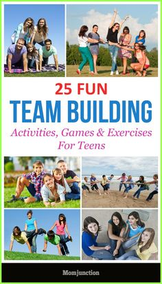 25 Fun Team Building Activities, Games & Exercises For Teens