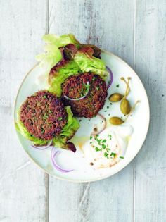 If you find yourself with leftover lentils, make these pan-seared patties—they're crisper, better tasting, and more healthful than store-bought (processed) vegetable burgers.