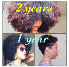 TAREN GUY'S NATURAL HAIR JOURNEY