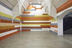 David Tremlett | 3 Drawing Rooms | at Ikon Gallery, Birmingham, 2013