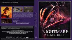 A Nightmare on Elm Street Blu-ray Custom Cover Nightmare On Elm Street, How To Fall Asleep, Cover Design, Book Cover Design, Cover Art