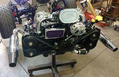 Trike powerplant - Subaru EJ25 165hp 2.5L