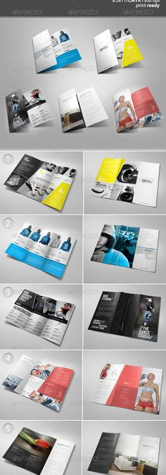 Tri-Fold Brochure Bundle 2