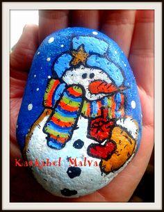Piedras pintadas por kaskabel malva