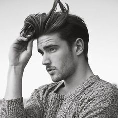 Flow Hairstyles - Short Sides with Long Textured Comb Over