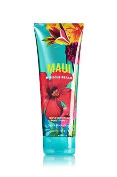 Maui Hibiscus Beach Triple Moisture Body Cream - Signature Collection - Bath & Body Works $13.00