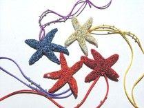 ESTRELLAS DE MAR- Bisutería textil Textiles, Art, Starfish, Stars, Lilac, Art Background, Kunst, Performing Arts, Textile Art