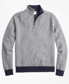 3350b6354754 Nautica N73105 Big Man Pima Cotton 1 4 Zip Sweater (Navy)   mens ...
