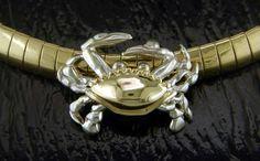 Steven Douglas - Crab Slide SGS625   By The Bay Gallery   Morro Bay California