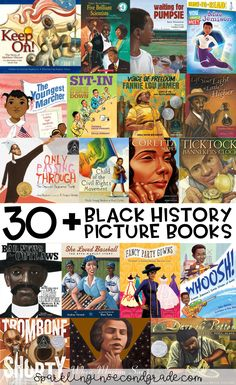 Here are over 30 picture book titles celebrating the accomplishments of African Americans. Here are over 30 picture book titles celebrating the accomplishments of African Americans. African American Books, Native American History, African History, Early American, British History, History Timeline, History Facts, Nasa History, History Quotes