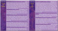 Itinerario cofradías no agrupadas 2012