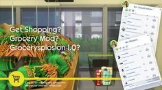 Simsworkshop: The Sims 4 Grocery Store Mod by SMagGeorge • Sims 4 Downloads