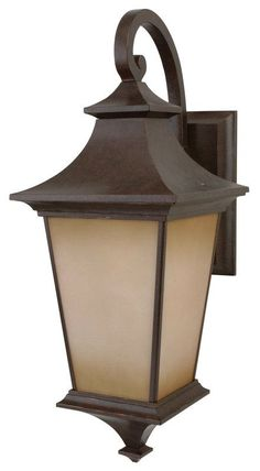 View the Craftmade Z1324 Argent 1 Light Outdoor Wall Sconce - 10 Inches Wide at LightingDirect.com.