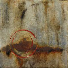 Saatchi Online Artist: Melinda Hannigan; Southern Cross, Artist Study, circles , Art Featuring Circles, Inspiration for CAPI Students at milliande.com , circles, kreis, symbology , metaphor, emotion, idea