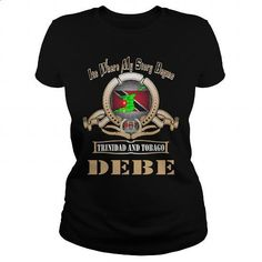 Debe Trinidad and Tobago - #design tshirt #cotton t shirts. ORDER HERE => https://www.sunfrog.com/LifeStyle/Debe-Trinidad-and-Tobago-129112171-Black-Ladies.html?60505