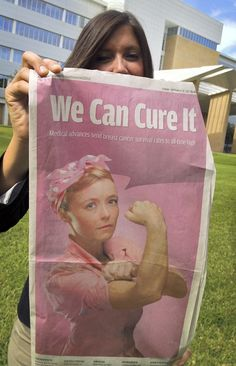 """""""Breast Cancer 2012 - We Can Cure It"""""""