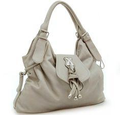 Cute Solid Gray Handbag Hobo Shoulder Bag Purse « Clothing Impulse