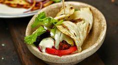 Fajitas ou wrap façon kebab