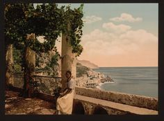 vintage everyday: Rare Vintage Photos of Naples in Color before 1900